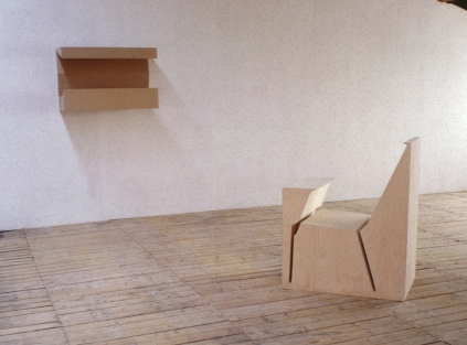 Empty Chair-1992 and Reversed Letterbox -1991