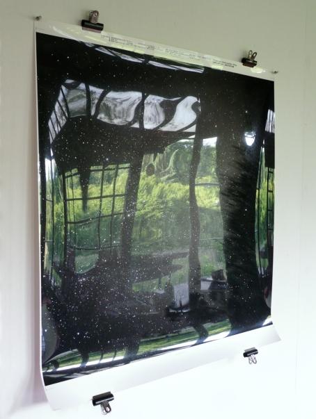 Het atelier en daarbuiten weerspiegeld in sterrenfoto -2015 (2)