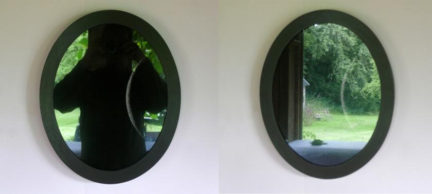 Luna-groen reflectie