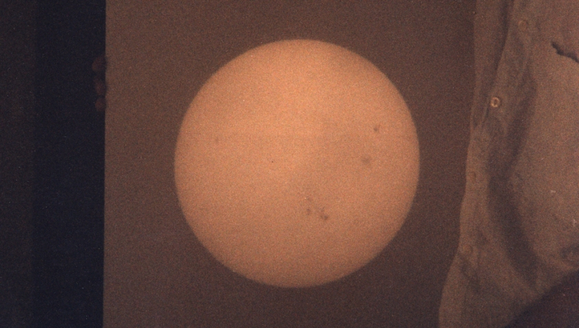 Telescopic Projection Of Solar Image...-1991-1996 Detail
